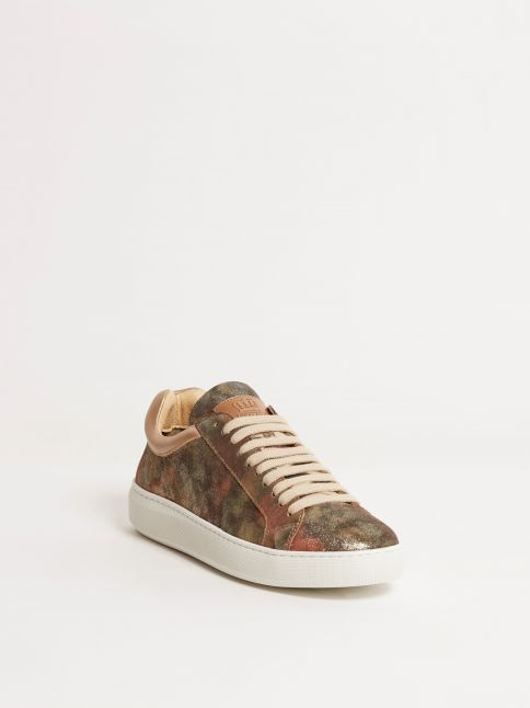 Kingsley Moroni B Sneakers hunter gold front view