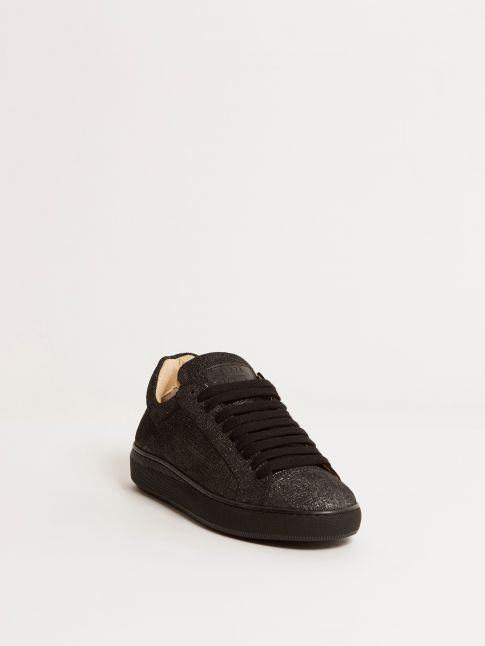 Kingsley Moroni B Sneakers black frame front view