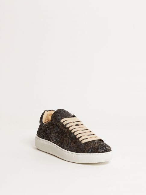Kingsley Moroni B Sneakers boa blue front view