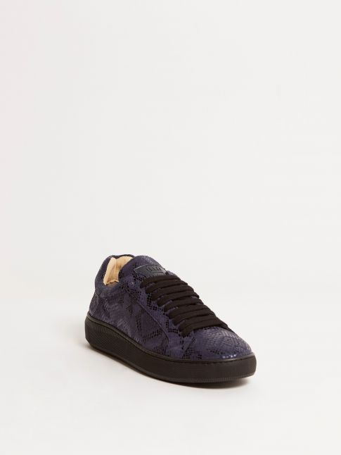 Kingsley Moroni B Sneakers blue scales front view