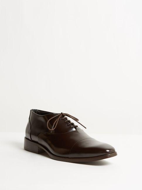 Kingsley Duke 00 Men Shoes uragano dark brown front view