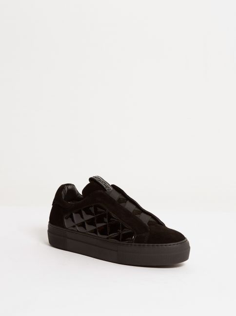 Kingsley Cross Sneakers sensory black, roma black front view
