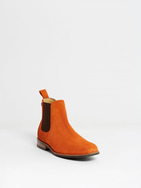 Kingsley LaPaz Jodhpur sensory orange brown front view