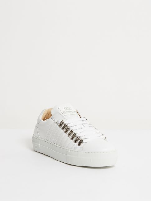 Kingsley Sky Sneakers white, roma white front view