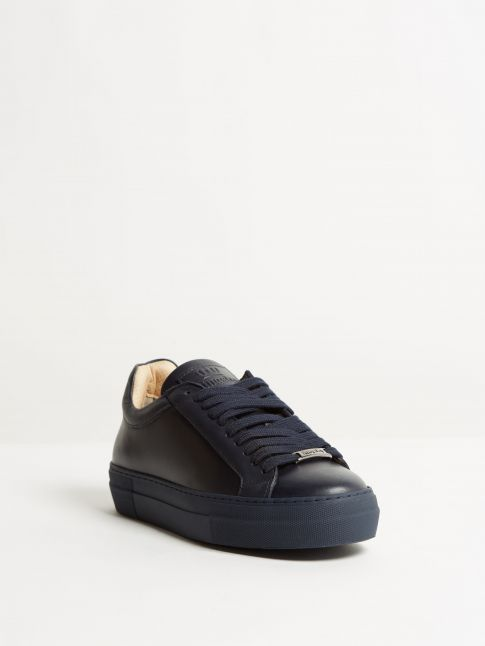 Kingsley Moroni Sneakers nature blue front view