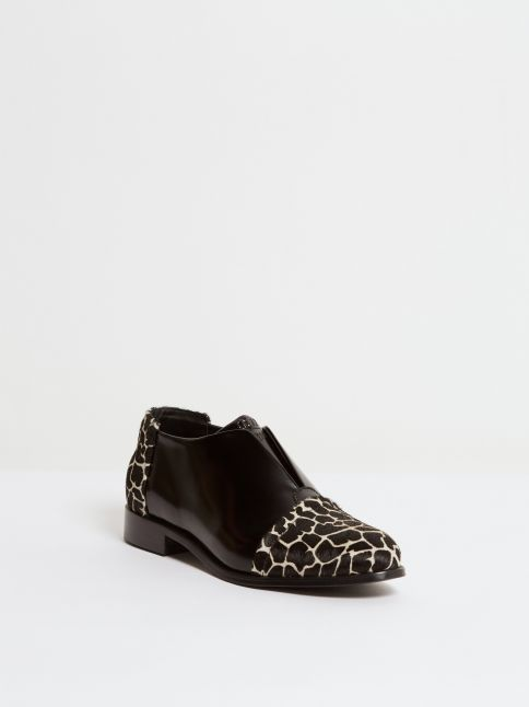 Kingsley Sintra Shoes uragano black, giraffe front view