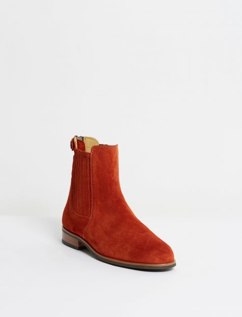Kingsley Berlin Chelsea Boots sensory habaner front view