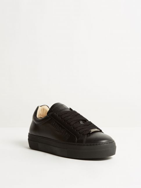 Kingsley Moroni Sneakers nature black front view