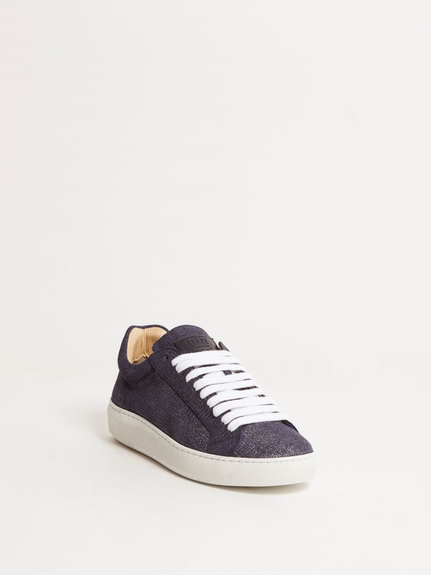 Kingsley Moroni B Sneakers blue frame front view