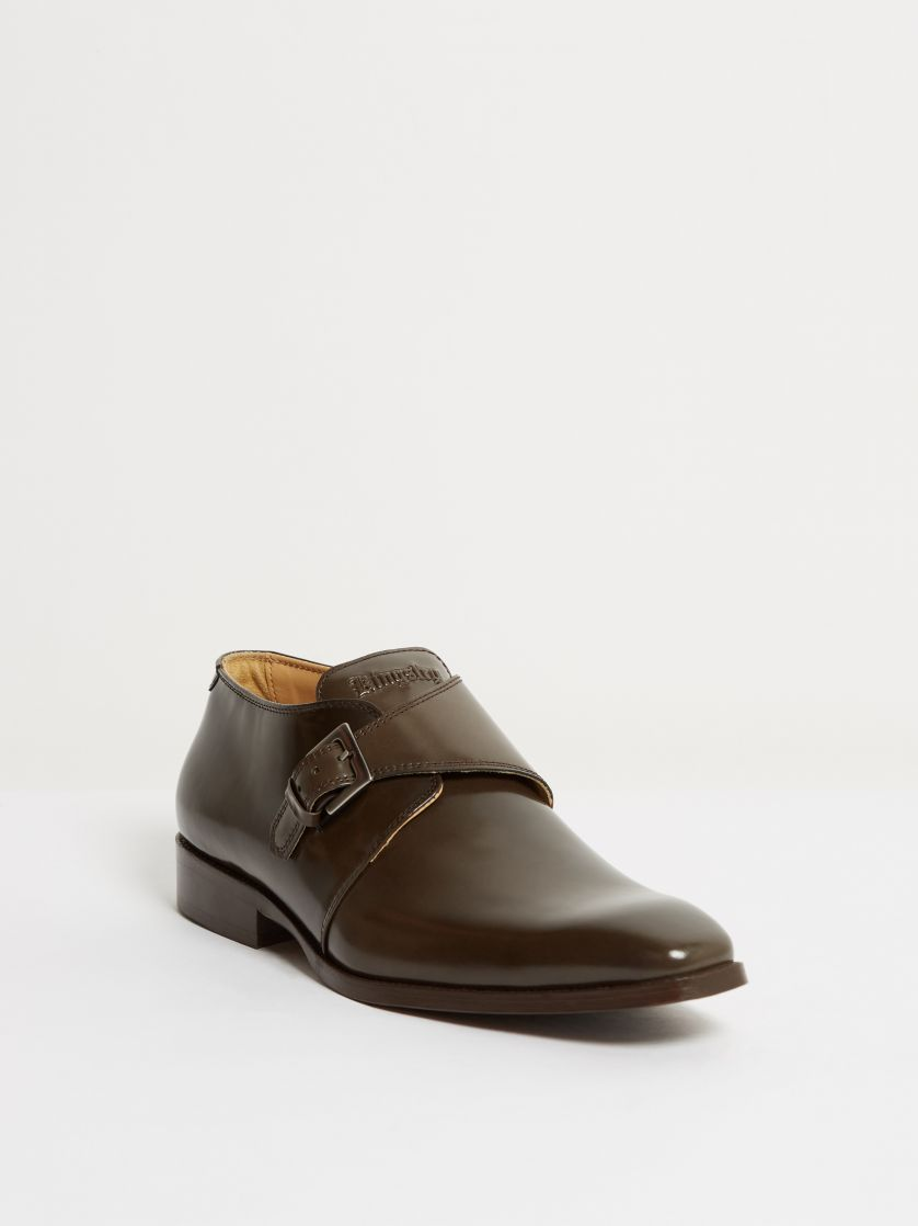 Kingsley Duke 01 Men Shoes Uragano taupe front view