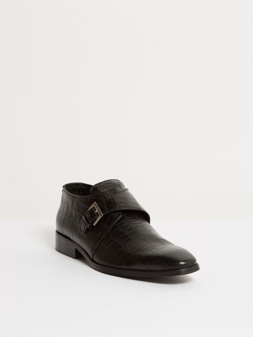 Kingsley Duke 01 Men Shoes croco beleza black front view