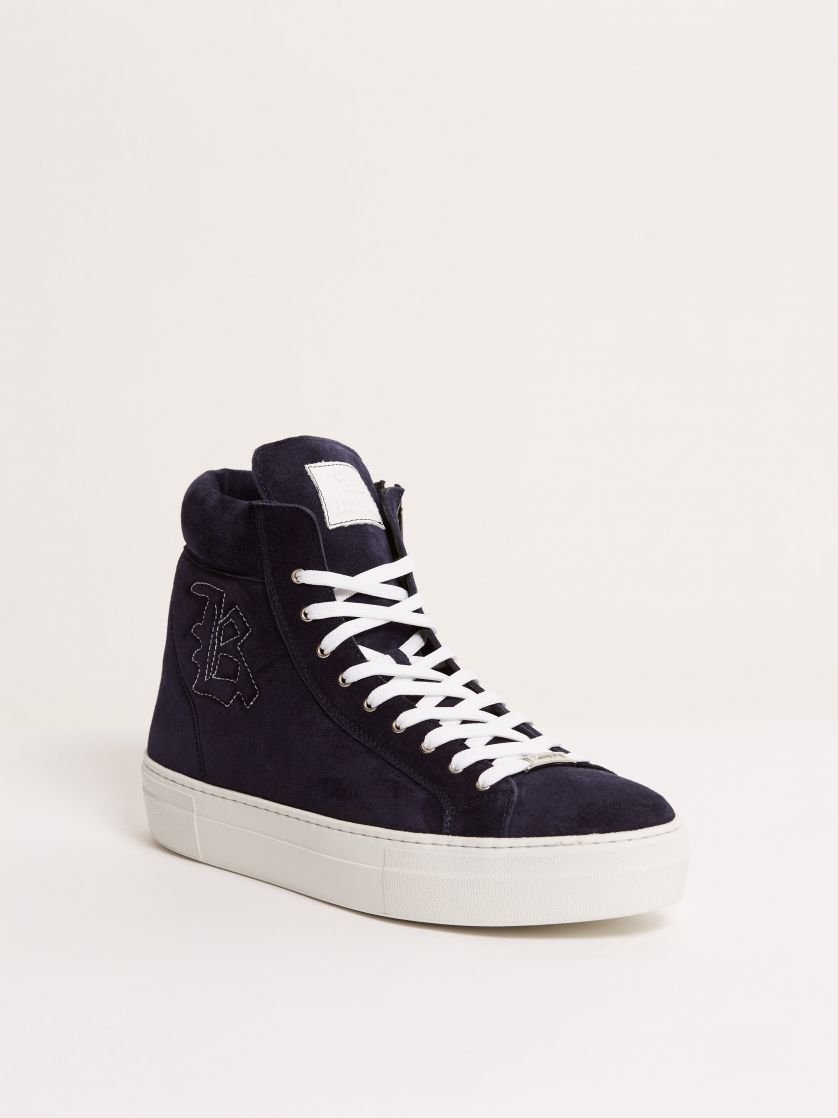 Kingsley Run Sneakers sensory blue pilota front view