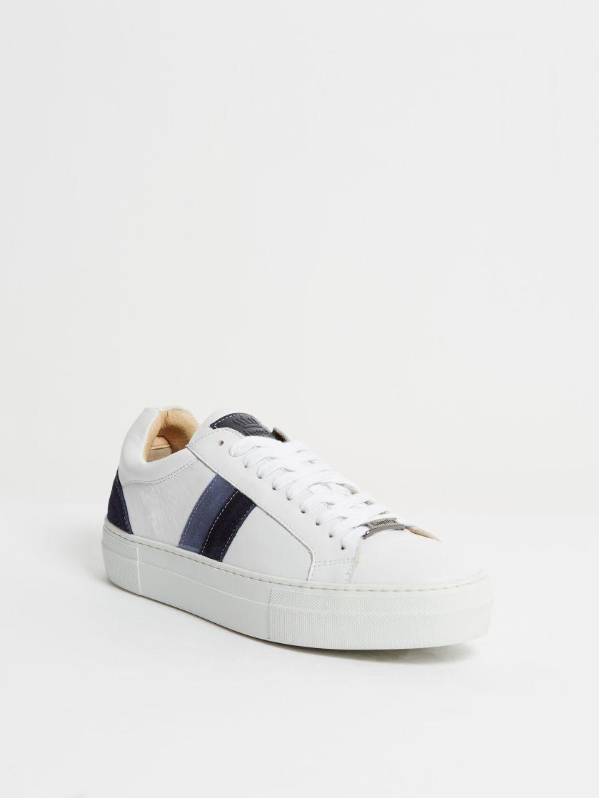 Kingsley Star Sneakers white, sensory blue pilota, sensory opale front view