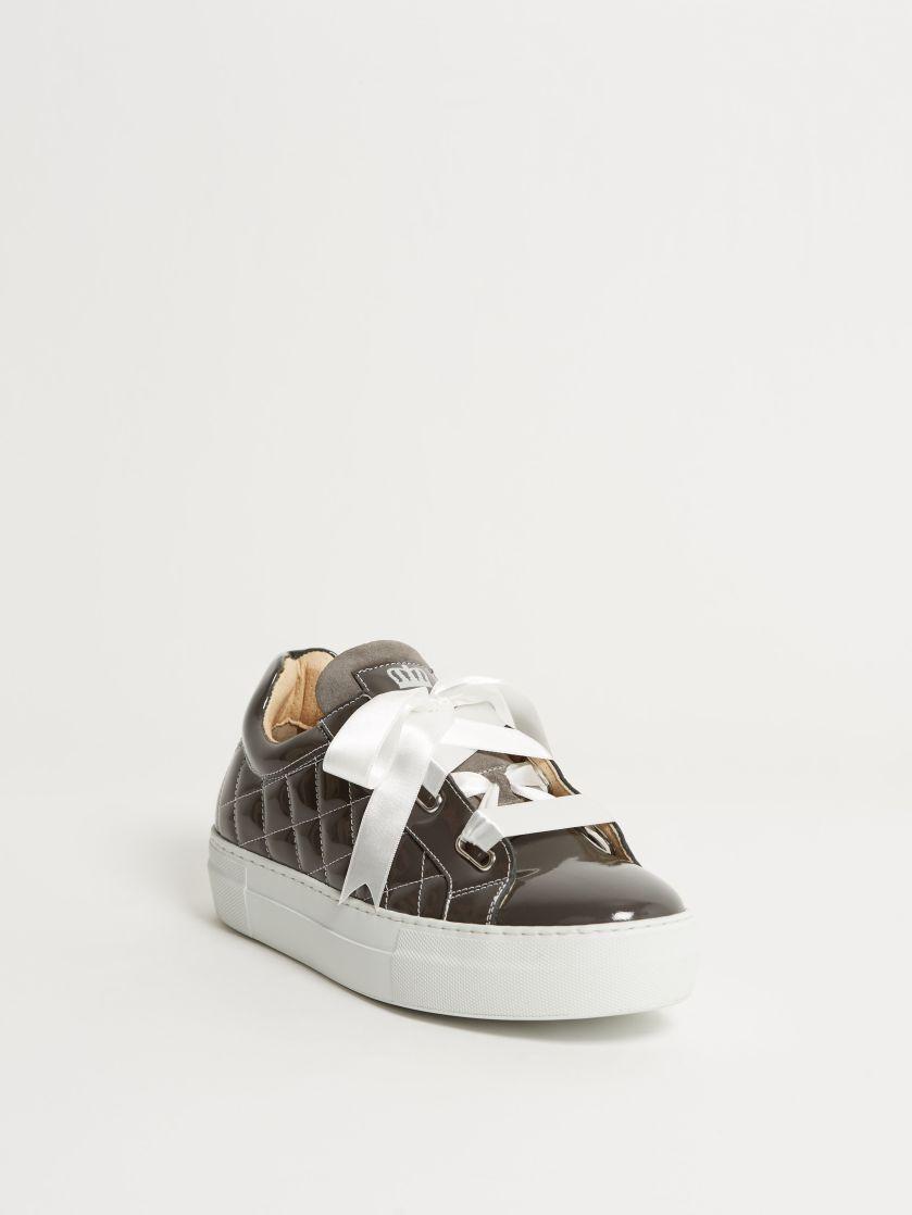 Kingsley Joy Sneakers roma grey, sensory litio front view
