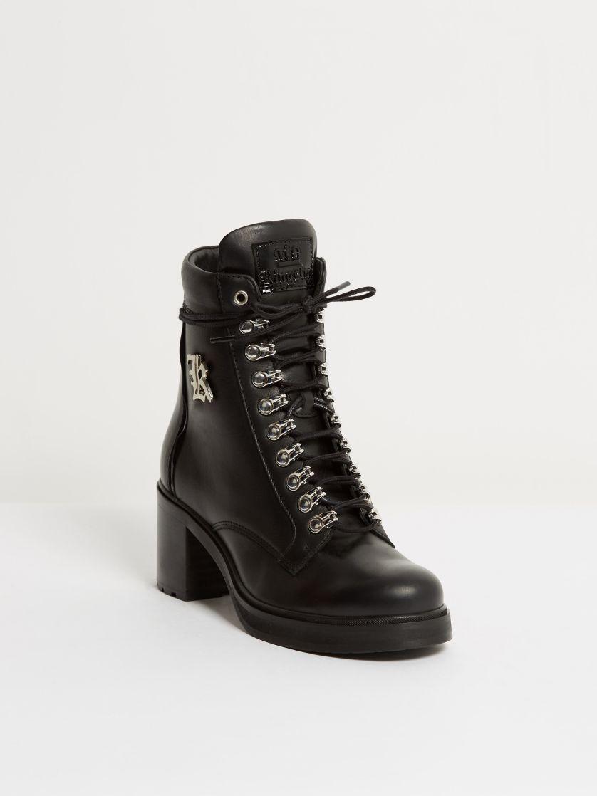 Kingsley Sandra Shoes nature black, roma black front view